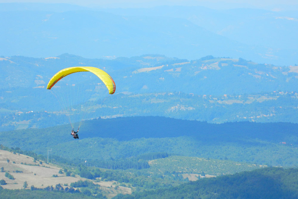 Paragliding Tour Western Serbia