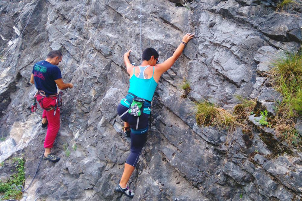 Rock climbing tour Uzice Western Serbia